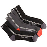 Endura Coolmax Stripe Socks - 3 Pack